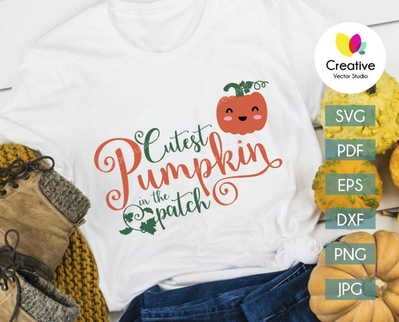 thanksgiving_t-shirt_design_ cutes_pumpkin