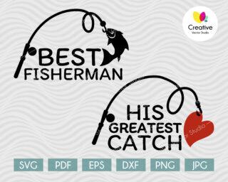 best fisherman svg