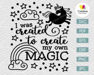 create my own magic svg