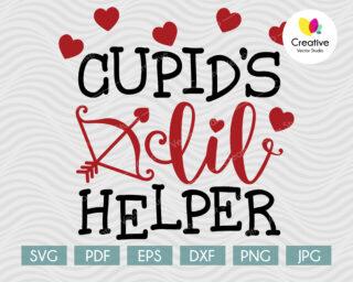 Cupid's Little Helper SVG