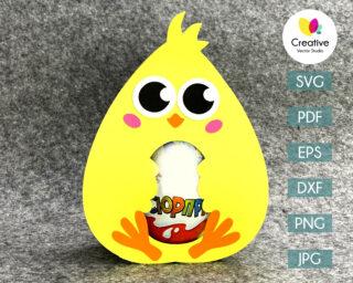 chick easter egg holder