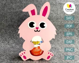 rabbit easter egg holder