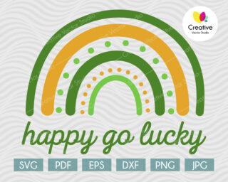 Happy Go Lucky SVG