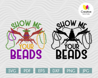 Show Me Your Beads SVG