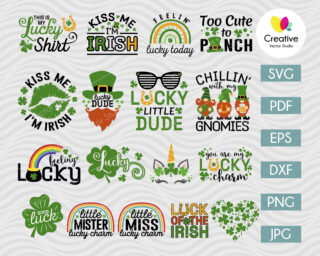 St Patricks Day SVG Bundle