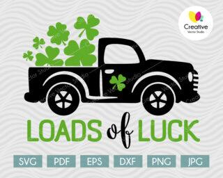 Loads of Luck Truck SVG