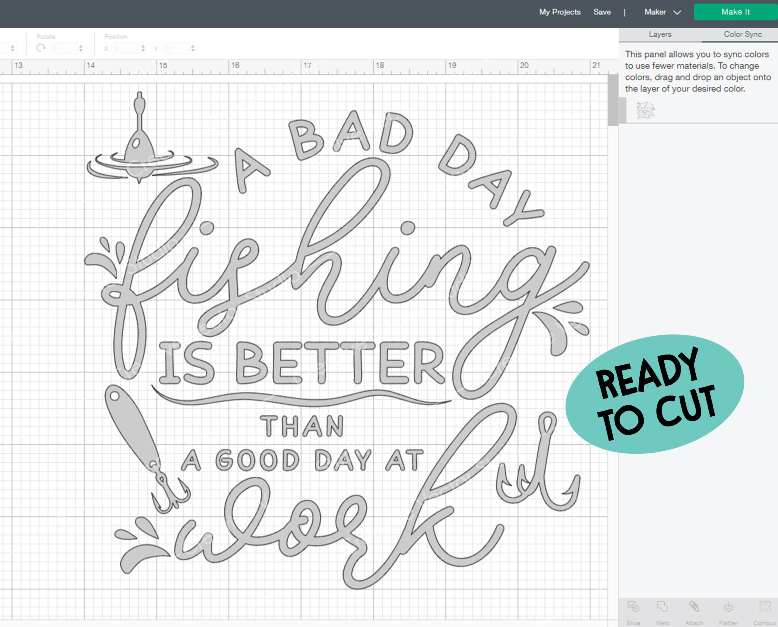 Download A Bad Day Fishing Is Better Than A Good Svg Creative Vector Studio