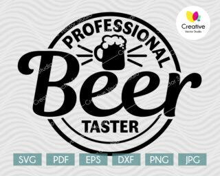 Professional Beer Taster svg
