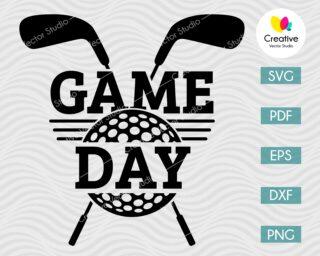 Golf Game Day SVG