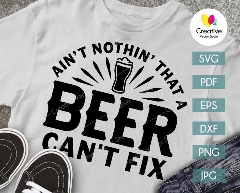 beer lover svg shirt design