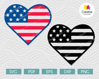 American Heart SVG