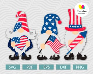 American Gnomes SVG