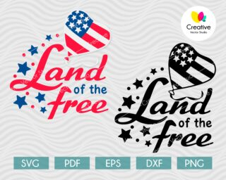 Land of the Free SVG
