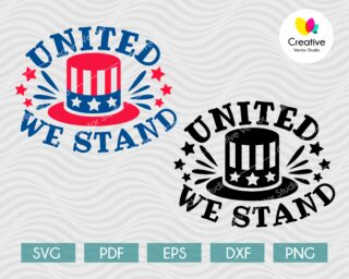 united we stand svg