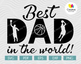 Best Dad In The World svg