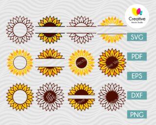 Sunflower for Starbucks Tumbler svg