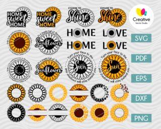 Sunflower SVG Bundle
