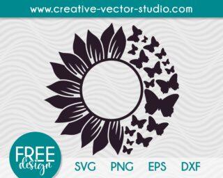 sunflower-monogram-svg