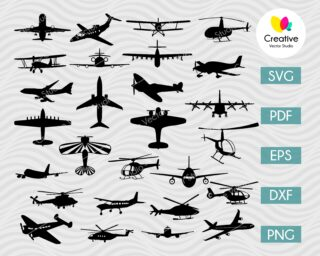 airplane svg bundle