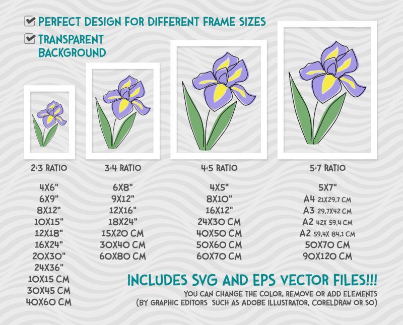 Flower Minimalist Wall Print