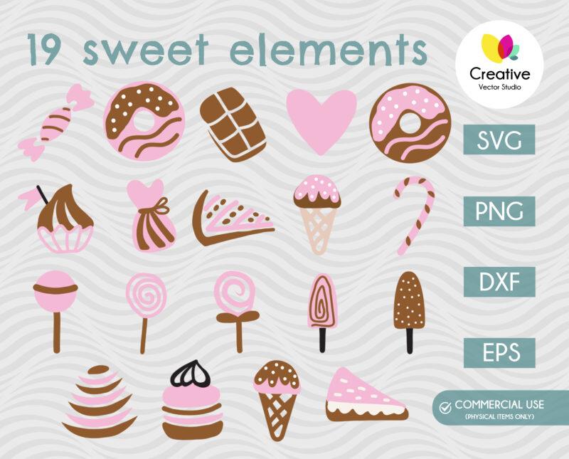 Sweets SVG bundle