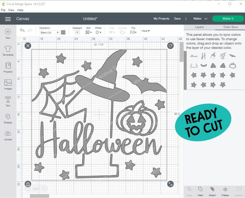 halloween cut file