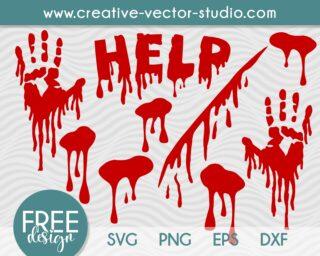 Free Blood Dripping SVG