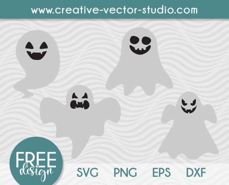 Free Halloween Ghost SVG
