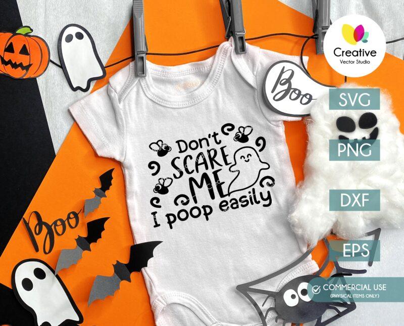 Cute Halloween Ghost SVG