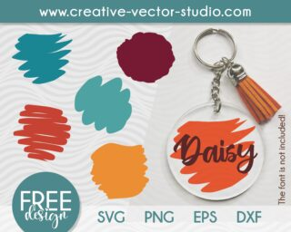 Free Paint Brush Stroke SVG Bundle