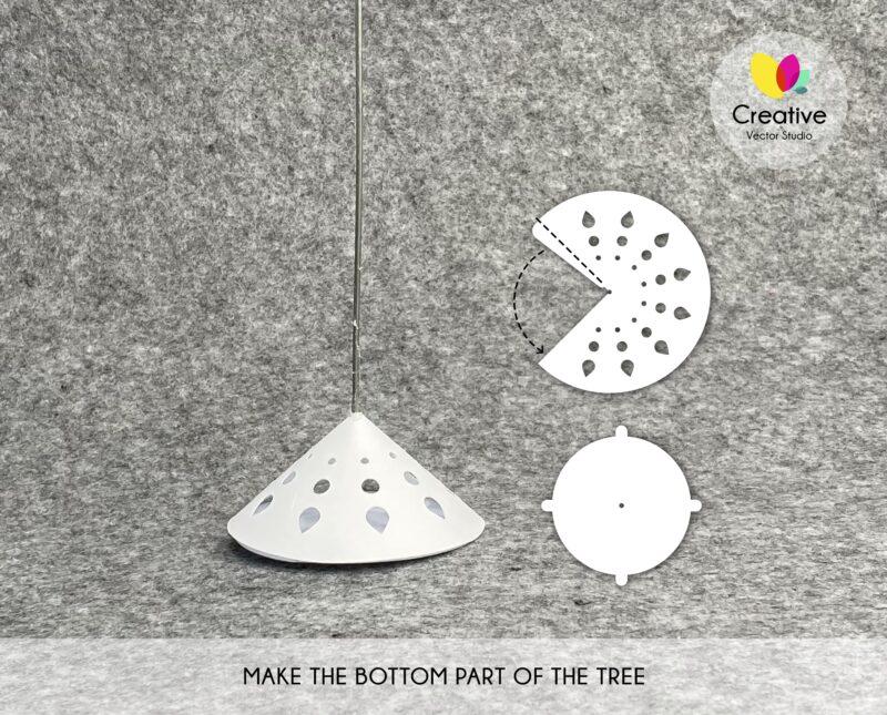 Paper Christmas Tree SVG