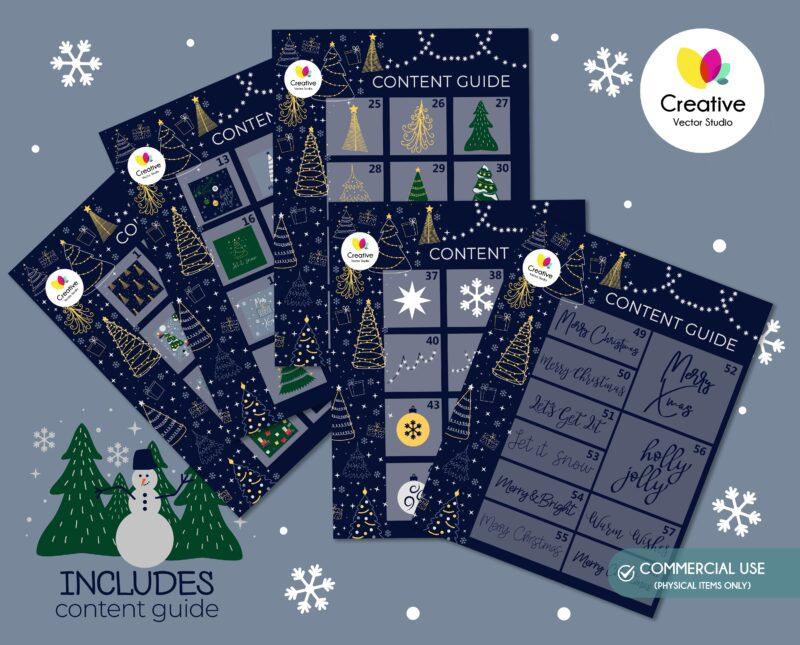 Merry Christmas SVG bundle