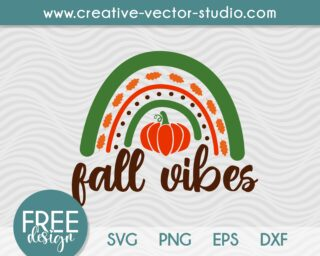 Free Fall Vibes SVG